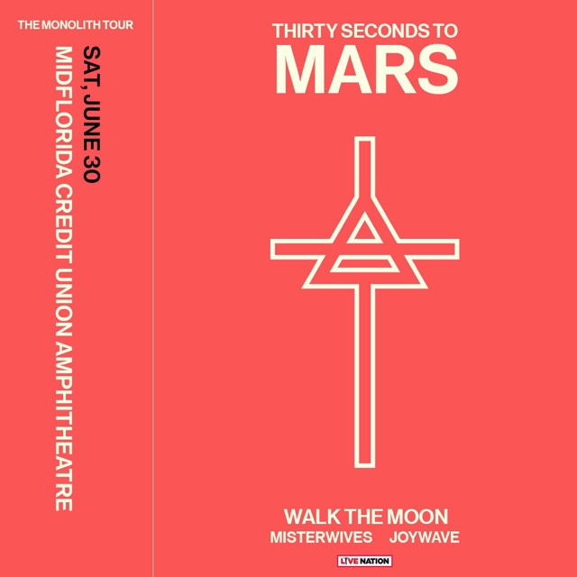 Thirty Seconds To Mars Tampa 2018 Tickets