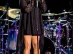 Marsha Ambrosius with John Legend   Live Concert Photos   July 25, 2014   St. Augustine Amphitheatre