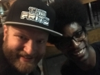 Me with Jamar of The Fritz