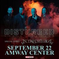Disturbed-Tour Orlando Date 2019 Amway