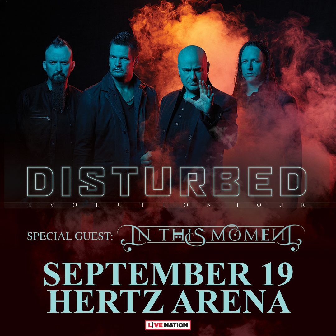 Disturbed Hertz Arena Florida Tour 2019 Estero