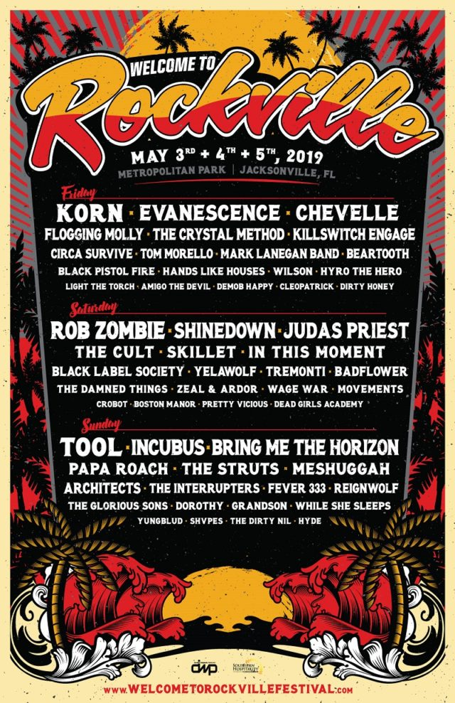 Rockville 2019 New Lineup Tickets