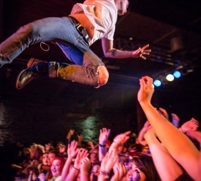 ice nine kills live concert photo stage dive