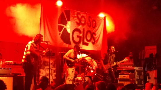The So So Glos Live Concert Photo 2014