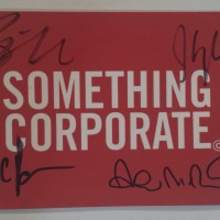 Something Corporate Giveaway 2014 | Andrew McMahon Giveaway