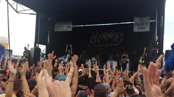 Bayside Warped Tour 2014 Orlando