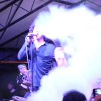 Antemasque's Cedric Bixler-Zavala Sets Off Fire Extinguisher During A Show