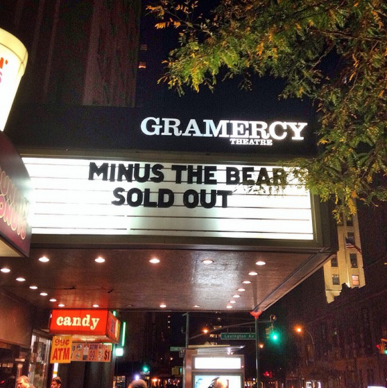 Minus The Bear Live Review