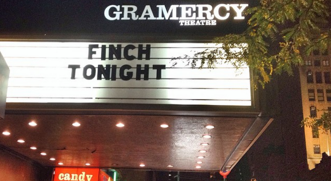 Finch Live Review