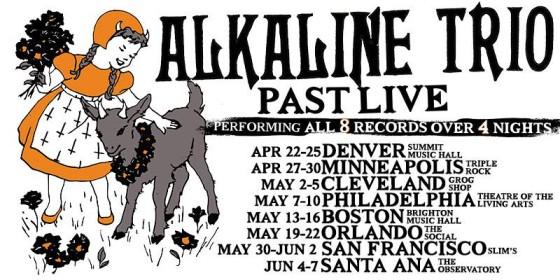 alkaline trio orlando residency 2015