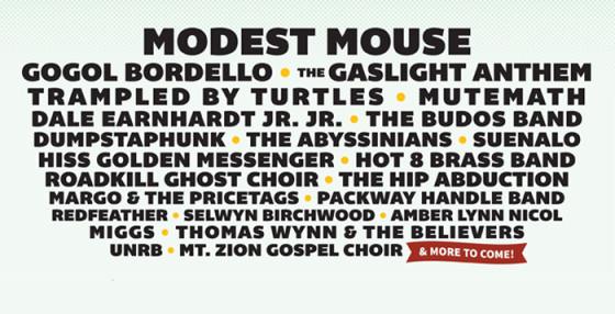 gasparilla music festival lineup 2015