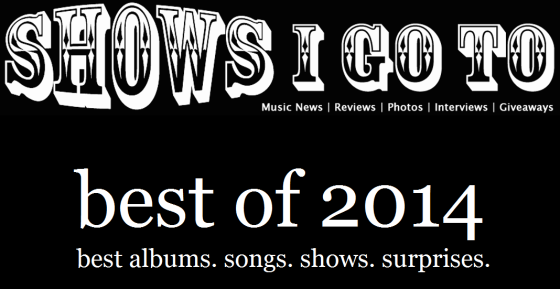 shows i go to best of 2014
