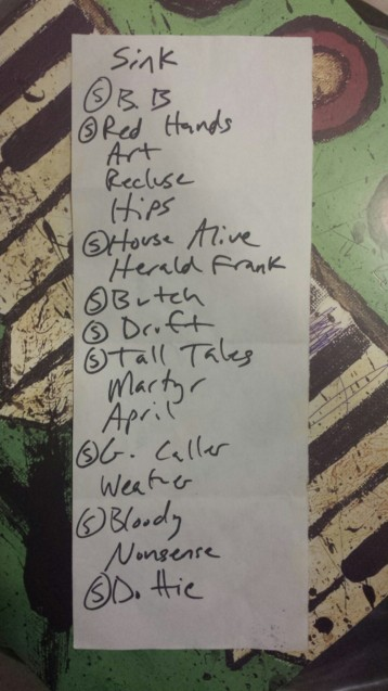 cursive live review orlando set list