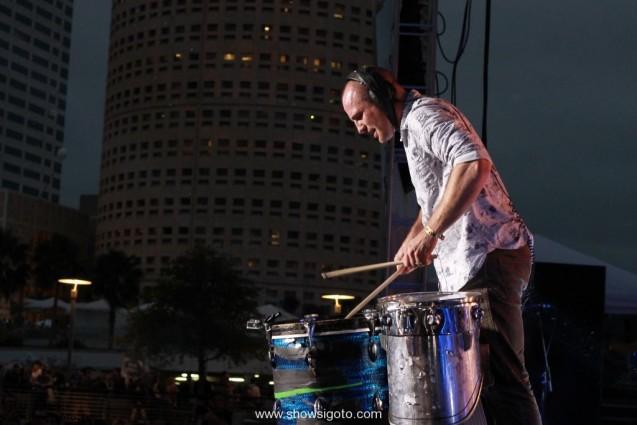 Gasparilla music festival live review - darren king mutemath