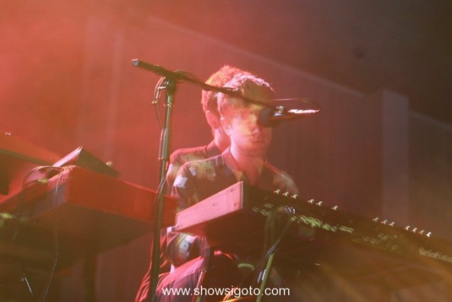 big guava live review -james blake