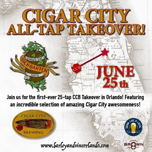 Barley Vine Cigar City Takeover