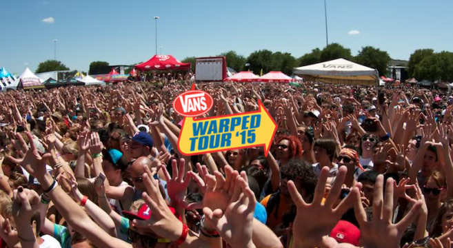 Circle Pit Warped Tour 10783 | HOMEUP