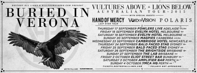 buried in verona tour dates