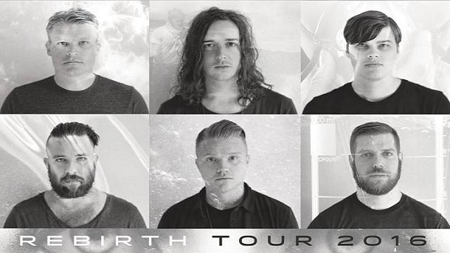 Underoath Rebirth Tour Presale Passwords Amp Dates Inside