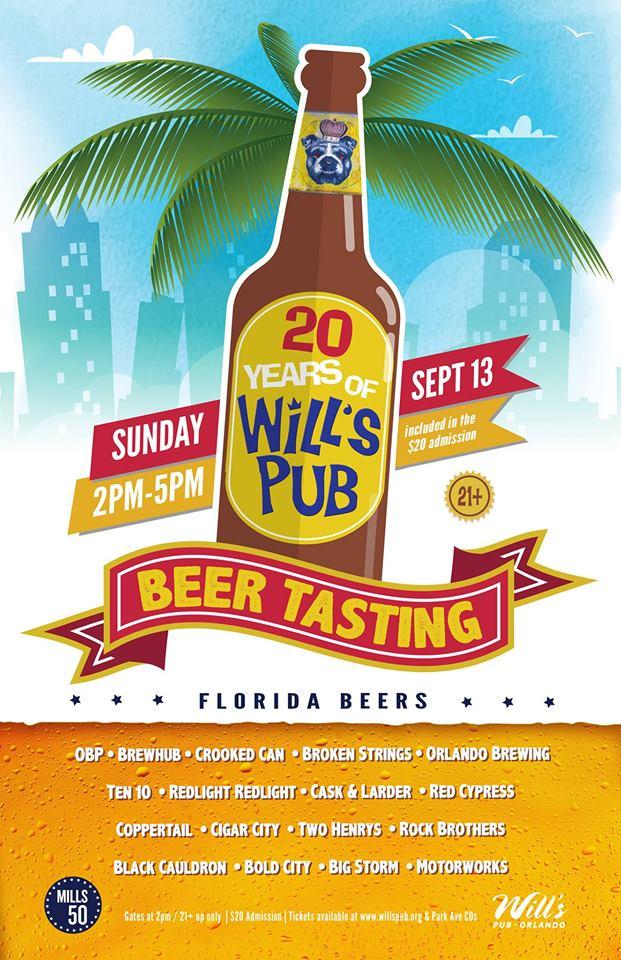 Wills Pub Beer Tasting