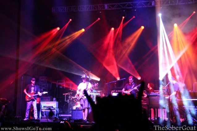 umphreys mcgee review st pete