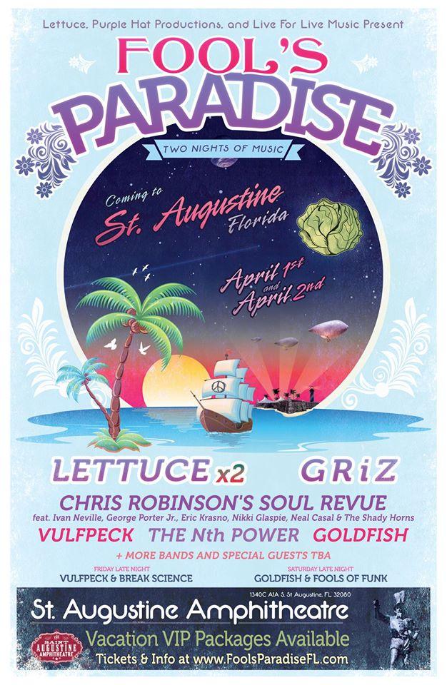 Fool's Paradise 2016