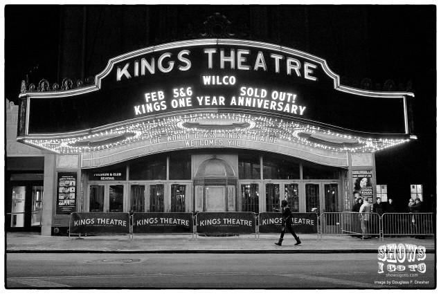 WILCO Kings Theatre, February 5, 2016