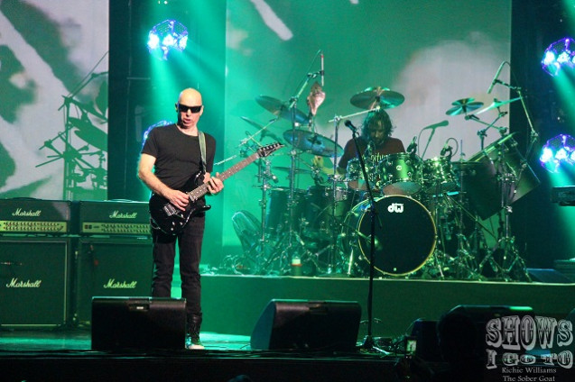 Joe Satriani Live Review