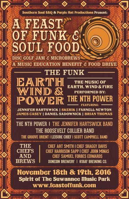 A Feast of Funk & Soul Food