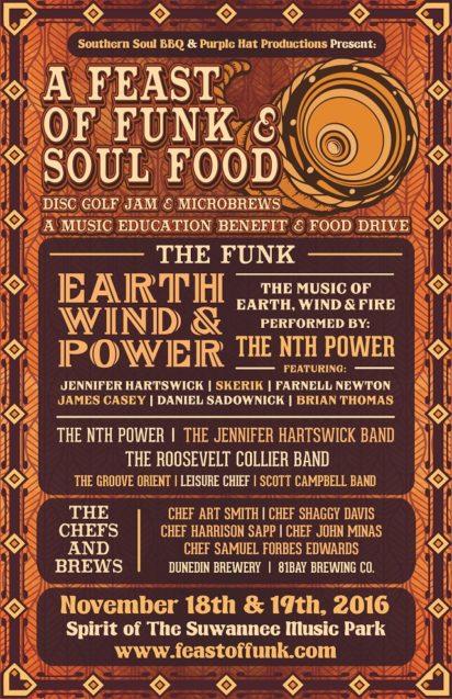 A Feast of Funk & Soul Food