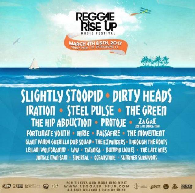 Reggae Rise Up 2017