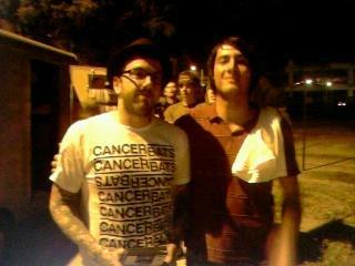 Dallas Green and Mitch 2006