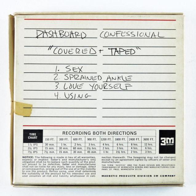 Dashboard Confessional Julian Baker Cover