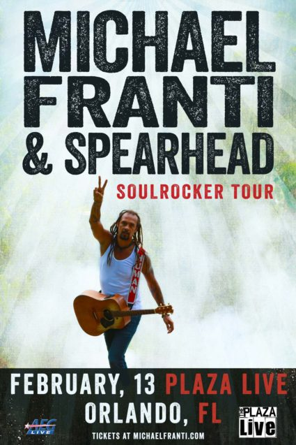 Michael Franti & Spearhead Soulrocker Tour Orlando 2017