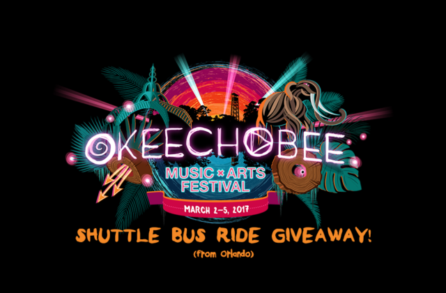 Okeechobee Shuttle Bus Ride Giveaway 2017