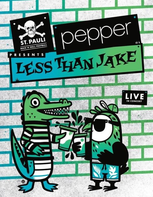 Pepper and Less Than jake