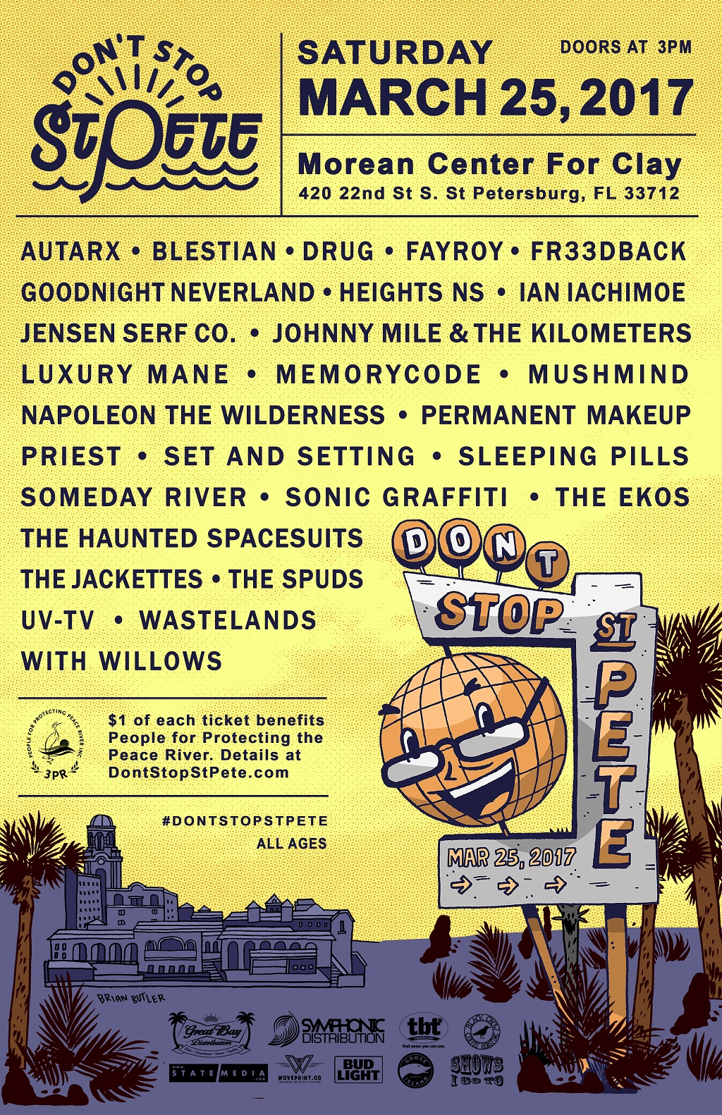 Dont Stop St Pete Final 2017 Lineup