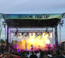 The Hip Abduction at Reggae Rise Up 2017