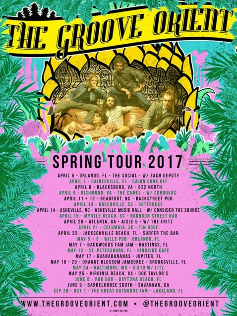 The Groove Orient Spring Tour 2017