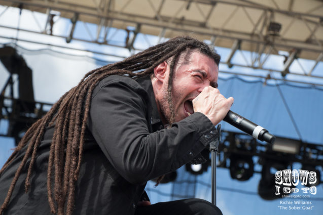 Nonpoint at Earthday Birthday 24 - Photo by Richie