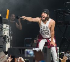 Jared Leto Thirty Seconds to Mars Tampa 2017