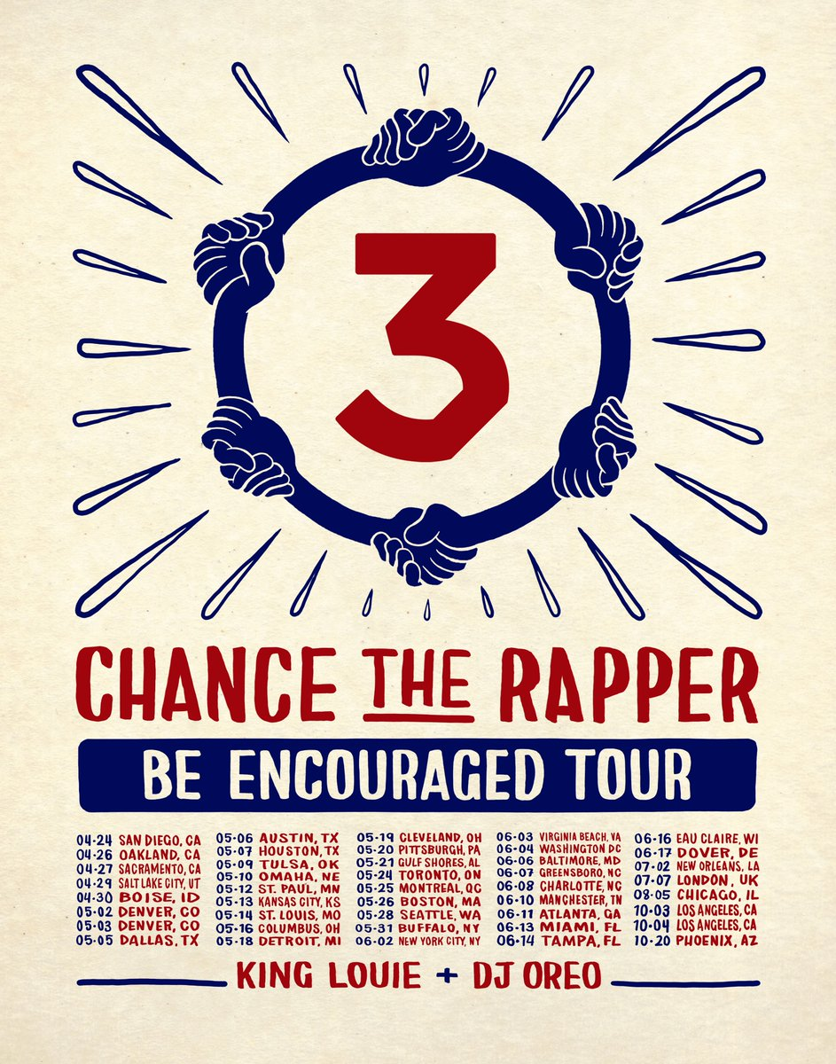 Be Encourage Tour Chance The Rapper Tampa