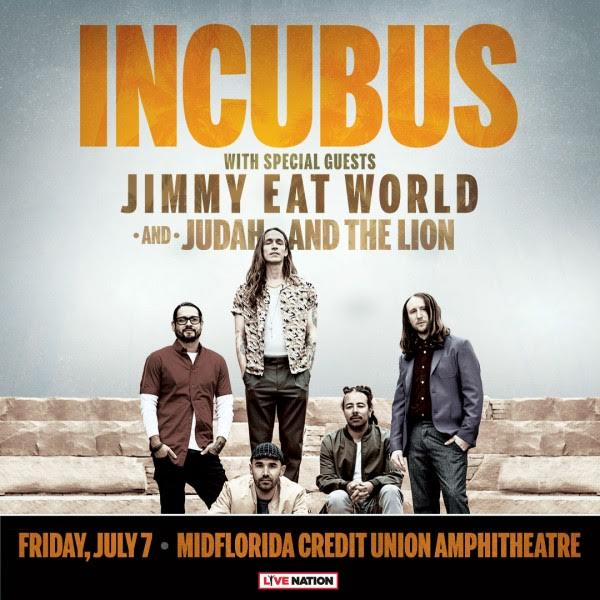 Incubus Tampa 2017 Jimmy Eat World