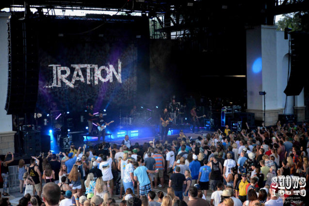 Iration | St. Augustine Amphitheatre, FL | June 22, 2017 | Photo by Carolyn Dentz