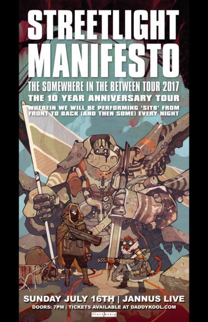 Streetlight Manifesto Jannus Live 2017