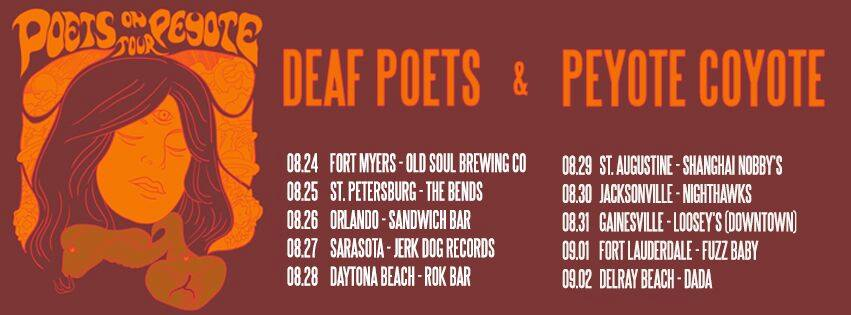 Deaf Poets Tour Announcement 2017