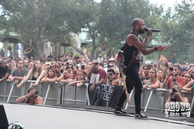 Nahko and Medicine for the People | Riverfront Park, Cocoa, FL | July 28, 2017 | Photo by Richie Williams
