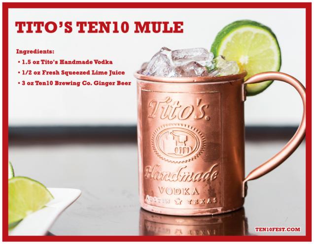 Tito's Ten10 Mule