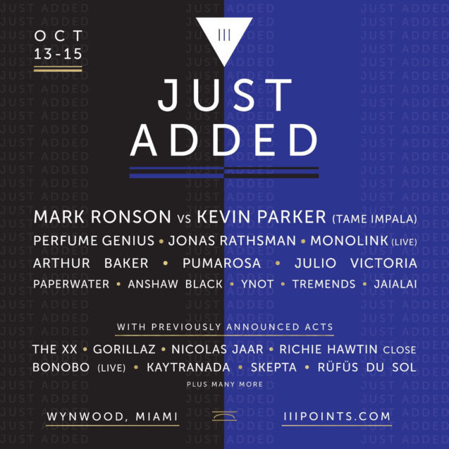 iii points 2017 new artists