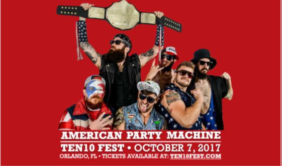 American Party Machine Ten10 Fest